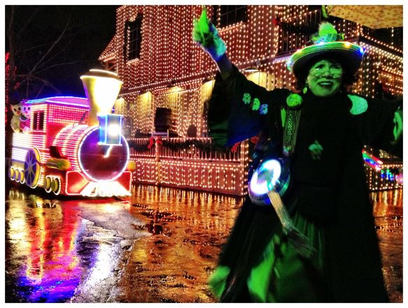 Dollywood Light Show