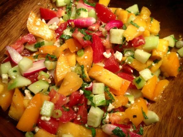 Isreali-ish Salad