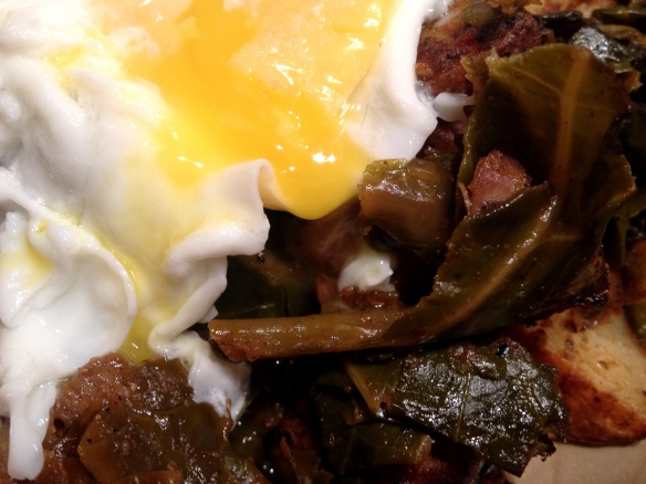 Collard Potato Hash