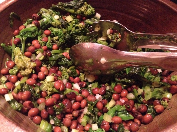 Pigeon Peas and Broccoli Rabe