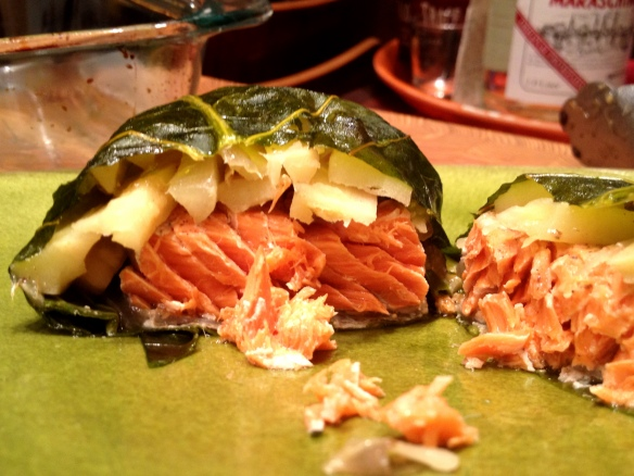 Collard-Wrapped Salmon 2