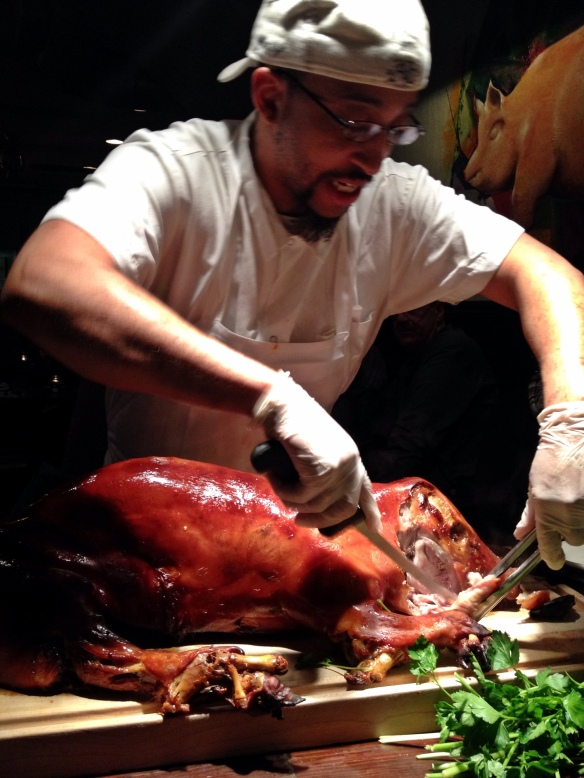 Pig Carving