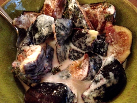 Figs with Yogurt and Thyme