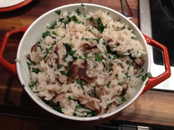 Gingered Shiitake Rice