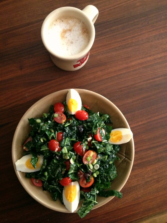 Greek-Style Kale Salad