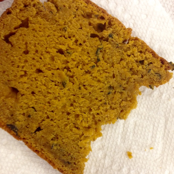 Kabocha Sage Bread Slice