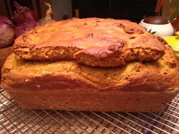 Kabocha Sage Bread