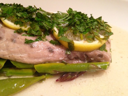 Baked Bluefish
