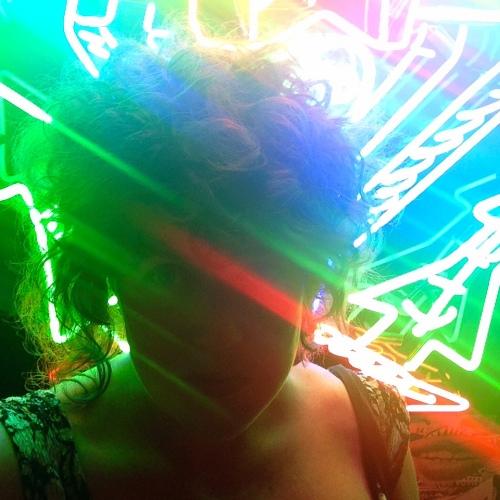 Neon Selfie